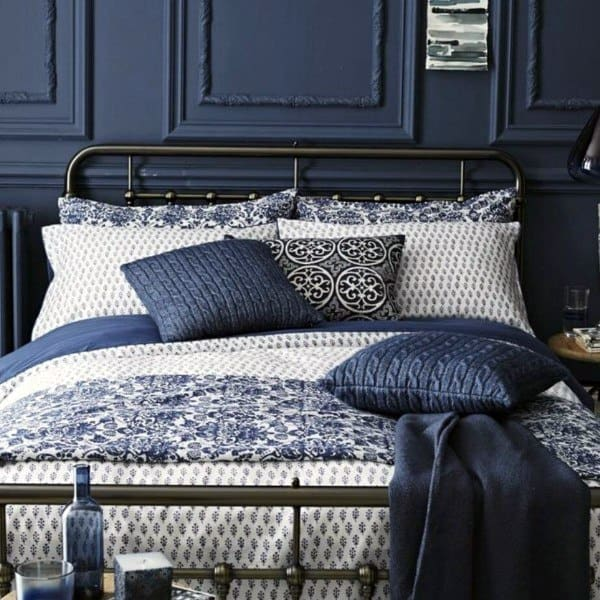 Grey And Navy Bedroom Ideas