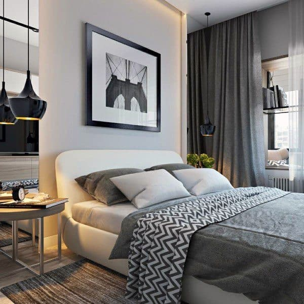 Grey And Silver Bedroom Ideas