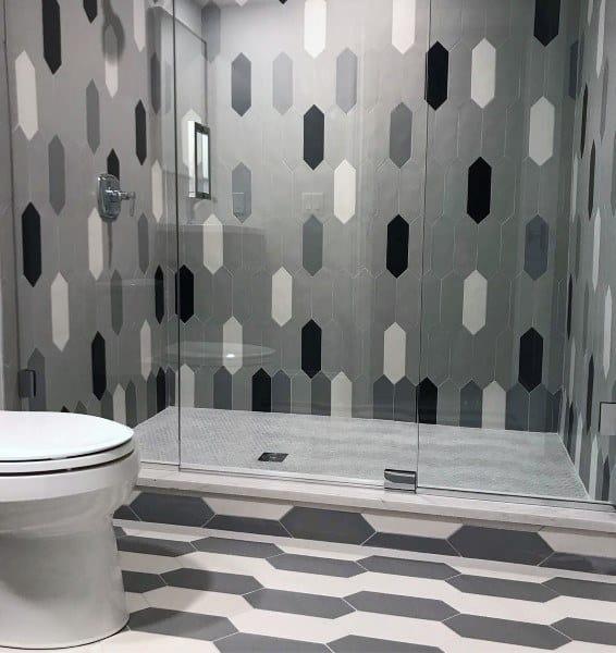 Grey Bathroom Tile Designs