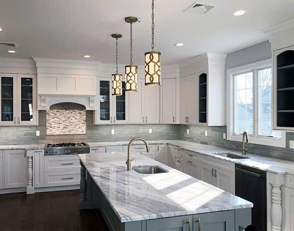Grey And White White Kitchen Ideas