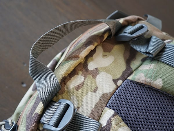 Grey Backpack Handle Mystery Ranch Urban Assault
