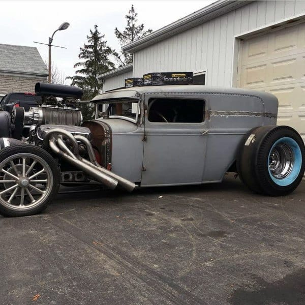 Grey Badass Rat Rods Ideas