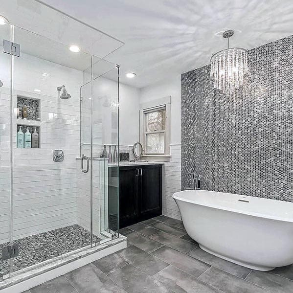 Grey Bathroom Inspiration