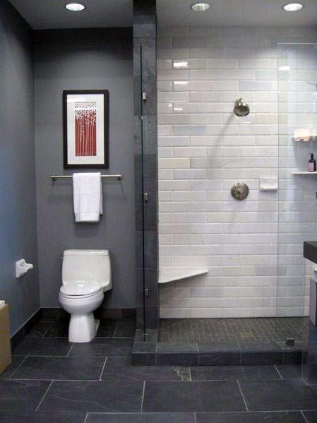 Grey Bathroom Tile Home Designs