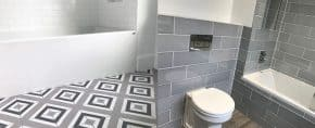 Top 60 Best Grey Bathroom Tile Ideas – Neutral Interior Designs