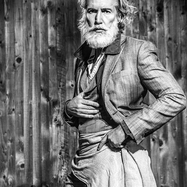 Grey Beard Mens Grey Style Ideas