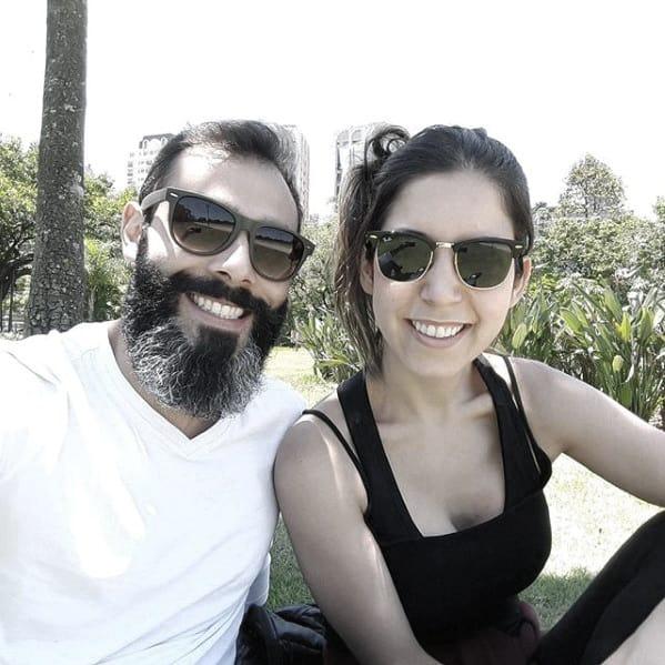 Grey Beard Style Idea On Man