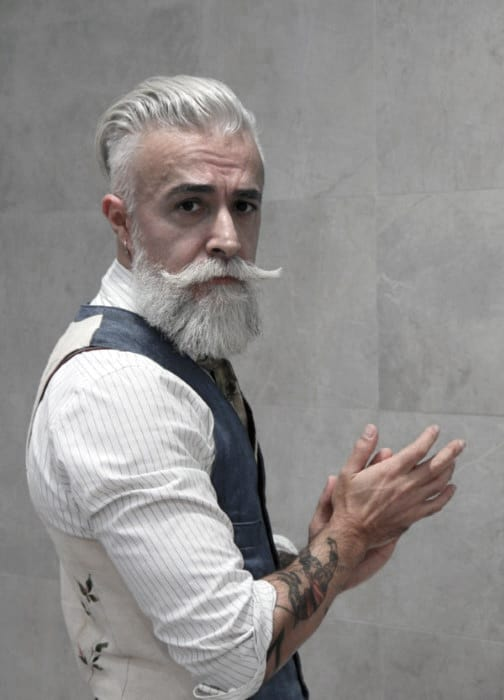 Grey Beard Style Inspiration For Men