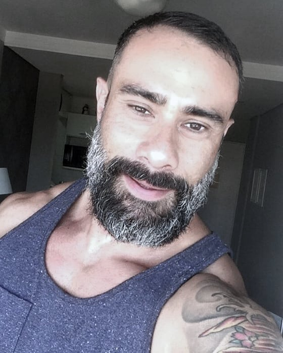 Grey Beard Styles Guys