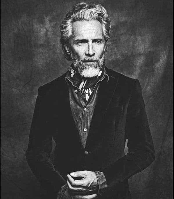 Grey Beard Styles Male