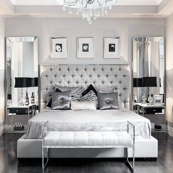 Light Grey Bedroom Ideas: Top 60 Best Grey Bedroom Ideas
