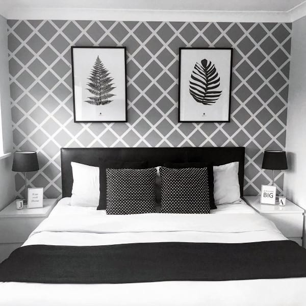 mural and painted wall bedroom wall decor ideas