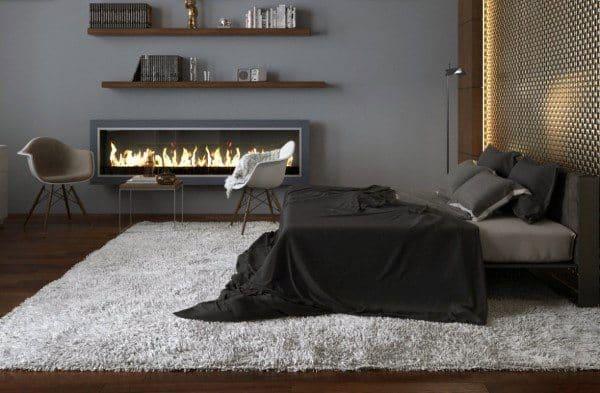 Grey Bedroom Walls Design Ideas
