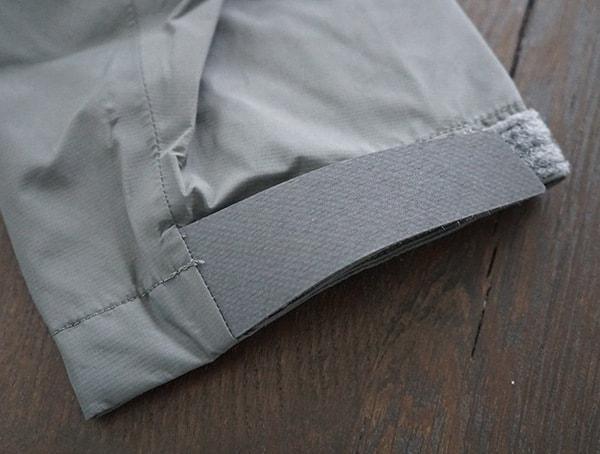 Grey Beyond Clothing K6 Arx Rain Mens Jacket Velcro Wrist Closure