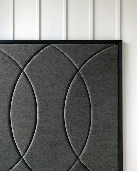 Grey Black Headboard Ideas
