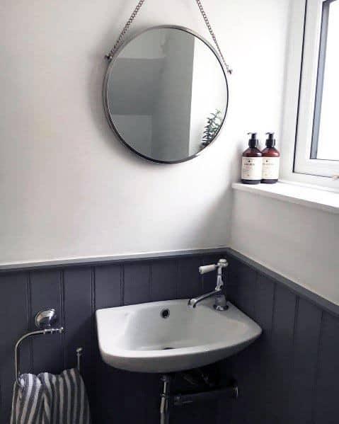 simple small powder room ideas