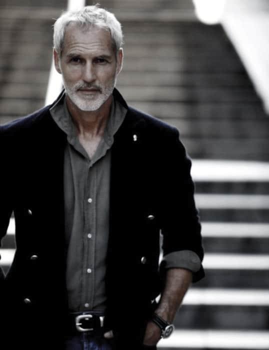 Grey Facial Hair Beard Styles For Men
