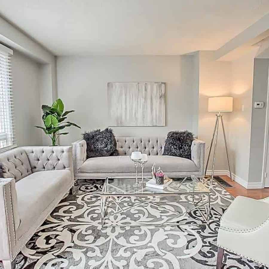 Grey Family Room Ideas Trillium Home Staging