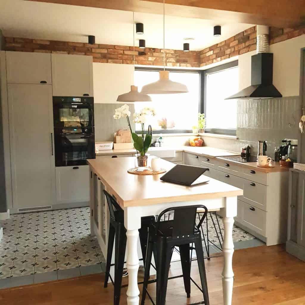 grey farmhouse kitchen ideas domekwojslandii