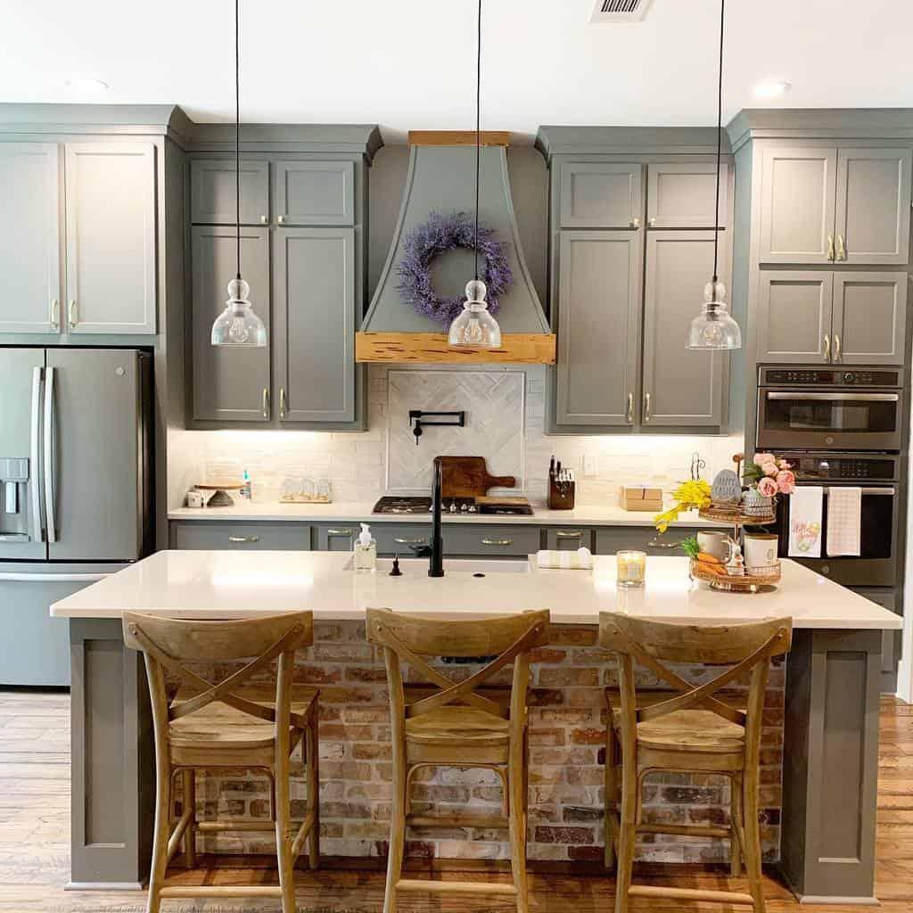 grey farmhouse kitchen ideas journey2woodbridge