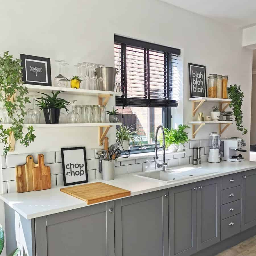 grey farmhouse kitchen ideas victorianterrace120