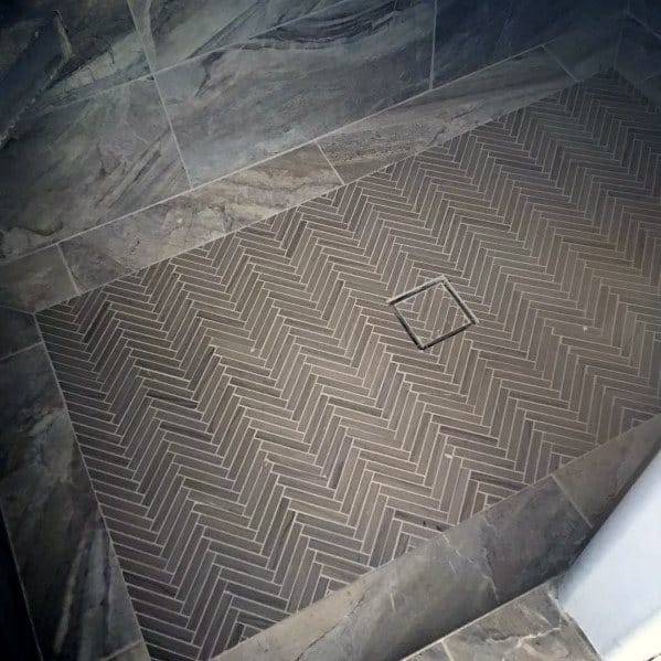 Top 50 Best Shower Floor Tile Ideas - Bathroom Flooring Designs