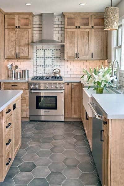 Awe Inspiring Top 50 Best Kitchen Floor Tile Ideas Flooring Designs Home Remodeling Inspirations Cosmcuboardxyz