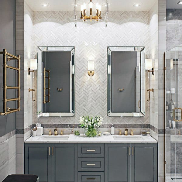 Grey Ideas For Home Bathroom Vanity