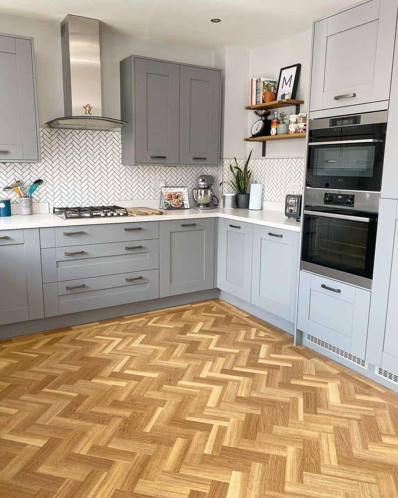 grey kitchen color ideas oneninebridgewater