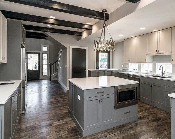 Grey Kitchen Design Inspiration