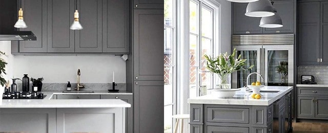 Top 50 Best Grey Kitchen Ideas – Refined Interior Designs