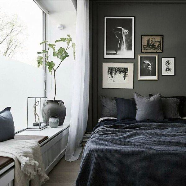 Grey Master Bedroom: Top 60 Best Grey Bedroom Ideas