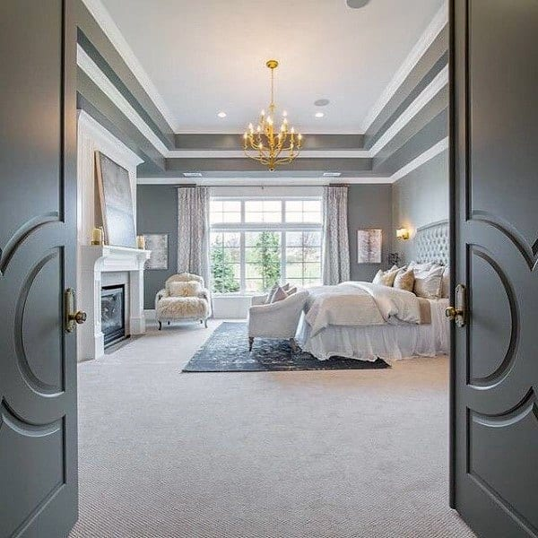 Grey Master Bedroom Design Ideas