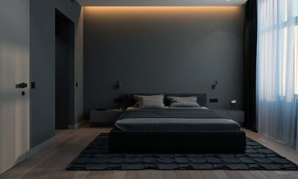 Grey Modern Bedroom Ideas