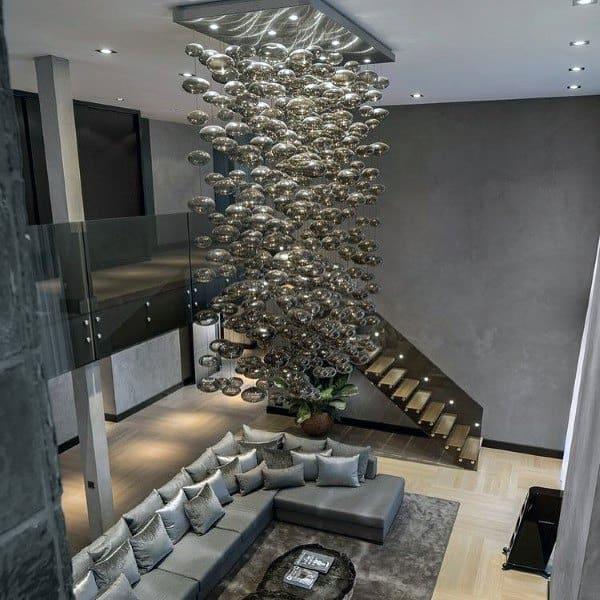 Grey Modern Living Room Ideas