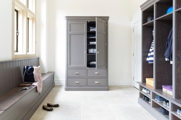 Grey Mudroom Ideas