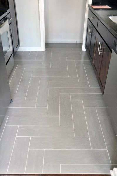 Top 50 Best Kitchen Floor Tile Ideas - Flooring Designs