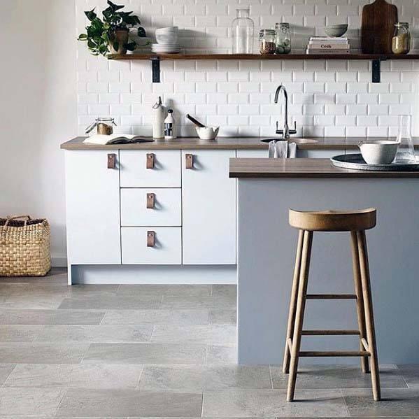 Kitchen Design Articles: Top 50 Best Kitchen Floor Tile Ideas