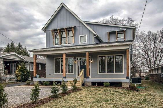 Grey Rustic Home Design Ideas House Siding