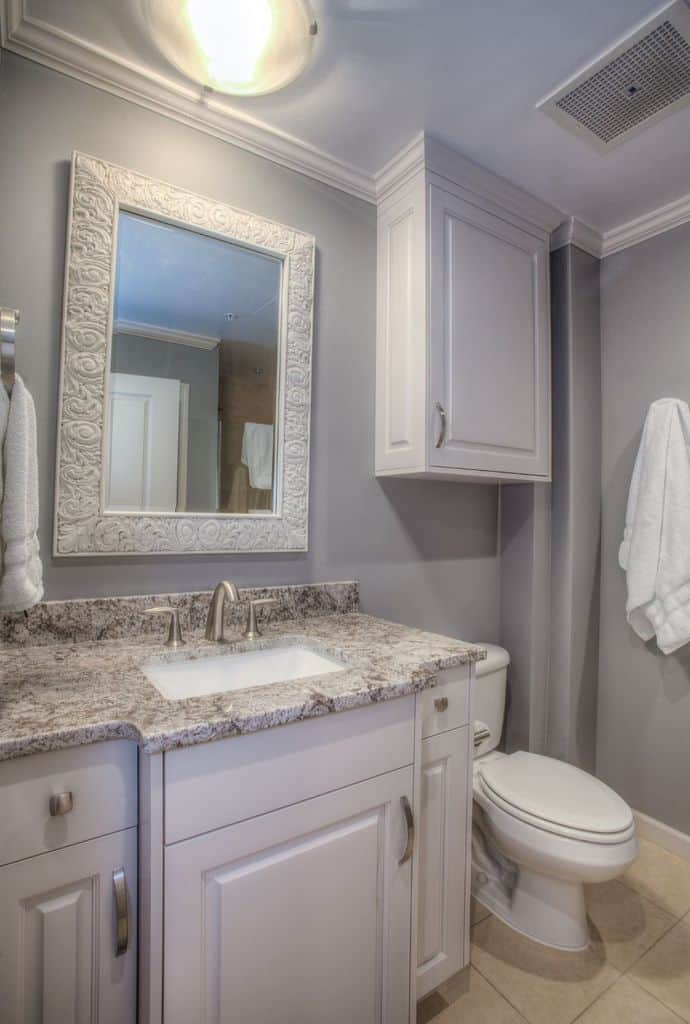 Grey Small Bathroom Paint Ideas 1