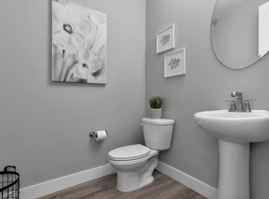Grey Small Bathroom Paint Ideas 2