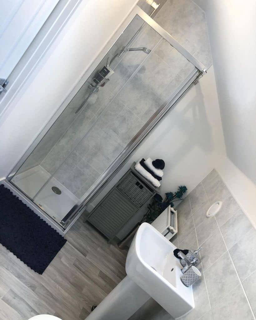 Grey Small Shower Ideas Newbuild Ourhome151