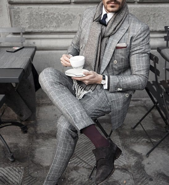 Grey Suit Style Looks For Men