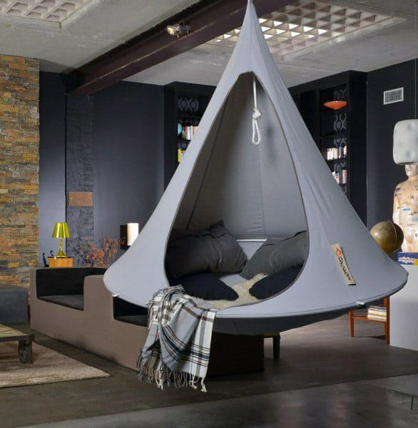 Grey Two Person Indoor Ideas Hammock Designs