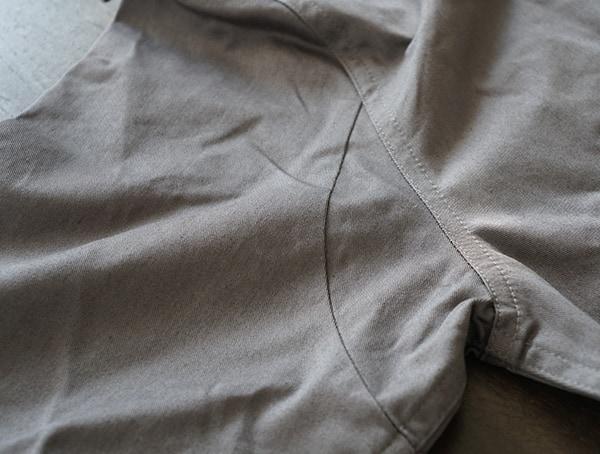 Grey United By Blue Holt Work Shirt For Men Construction Details