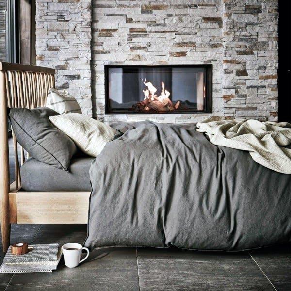 Grey Wall Bedroom Ideas