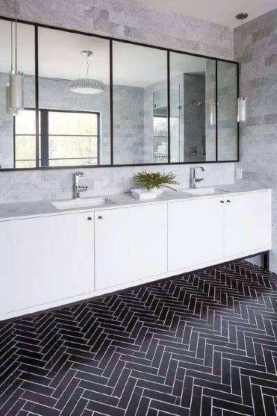 minimalist black and white bathroom ideas