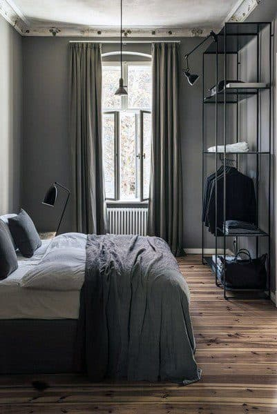 Grey Walls Bedroom Ideas