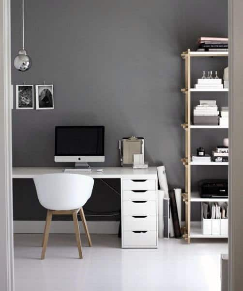 20 Inspiring Home Office Design Ideas For Small Spaces: 75 Small Home Office Ideas For Men