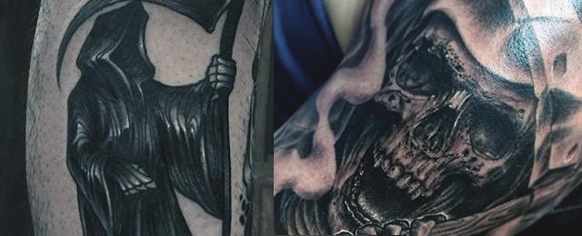 Grim Reaper Tattoos For Men